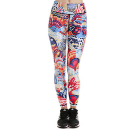 58d7c76dcc Colorful butterfly pants Nice scrawl tight Women soft gym clothing Leggings  sport wear Fitness training sportwear Exercise trousers