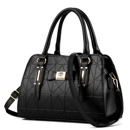 Wholesale Black Satin Rabbit - The new 2016 Boston handbag European and American style handbag shoulder inclined shoulder bag wholesale a undertakes