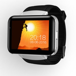 wifi gps ips Coupons - DM98 Smart Watch MTK6572 Dual Core 2.2 inch HD IPS LCD Screen 900mAh Battery 512MB Ram 4GB Rom Android 4.4 OS 3G WCDMA GPS WIFI