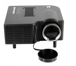 3-метровый игрок онлайн-Wholesale- Unic UC28 LED Mini Projector Full HD 400 Lumens 480 x 320 Pixels 0.9 - 3M Home TV Media Player Portable Home Theater Proyector