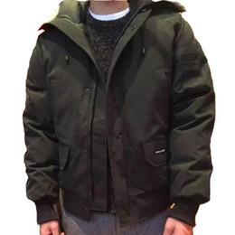 2019 uomini in giù vendita di cappotti Giubbotti da uomo di alta qualità invernale Giubbotto bomber Colletto con cappuccio con cerniera Giacca da uomo Chilliwackbomber Cappotti caldi da esterno Vendita sconti uomini in giù vendita di cappotti