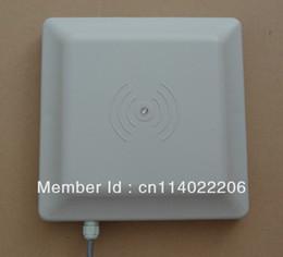 Wholesale Range Reader - Wholesale-UHF RFID reader 6m long range reader ,RS232 485 with Wiegand +Free SDK (FCC approved)