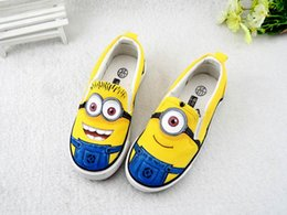 Wholesale Hand Painted Slip Sneakers - High Quality Graffiti Men Shoes Hand-painted Loafers Children Canvas Cartoon Shoes Low Cut Sneakers Kids Casual Shoes Sale