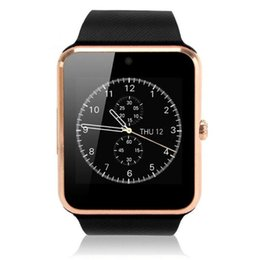 Wholesale Cheap Cameras For Sale - GT08 smart watch card phone Bluetooth foreign trade sales cheap phones smart phones unlocked cell phone wifi smart watch