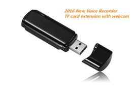 Wholesale Extensions Pen - Wholesale-2016 New TF card extension recording pen digital voice recorder with Webcam USB direct plug voice recorder UC-10