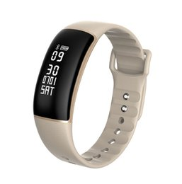 Wholesale Blood Pressure Measurement - Bluetooth Smart Wristbands 24H Automatically Heart Rate Blood Pressure Monitor Pedometer Speed Measurement Activity Tracker Bracelet A69