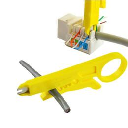 MINI Coupe-fil Multi-outils Ligne de coupe de voiture Couteau à dénuder portable Pince à sertir Pince à sertir Pince à dénuder, multi-outils de poche ? partir de fabricateur