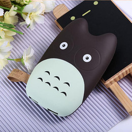Wholesale Mah Charger External - Lovely Cartoon Portable 7800 mah Totoro Mobile Power Bank External Battery Charger For Mobile phones charger Backup powers