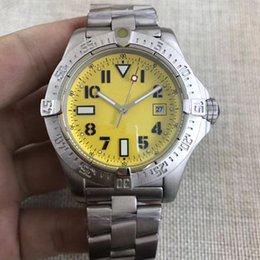 abiti casual gialli Sconti 10 stili di alta qualità orologi uomo orologio da polso giallo avenger seawolf orologio meccanico automatico orologio da uomo vestito da polso