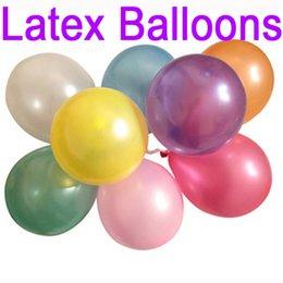 Гигантские шарики онлайн-100 шт. / лот 1.2 г воздушный шар гелий надувные гигантские латексные шары для свадьбы День Рождения украшения поставки C161Q