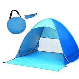 Wholesale Games For Beach - Summer Tents and shelters outdoor gear Beach tents Quick Automatic Opening Tents Instant Portable Beach Tent Beach for 2-3 person