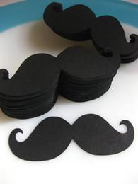 Wholesale Product Retail - 500pcs lot Party Necessary Paper Straws Decoration Black Moustache Unique Products For Wholesale&Retail With Lower Cost Price