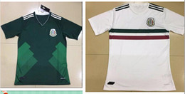 Wholesale Mexico Away Jerseys Wholesale - DHL shipping 2018 Mexico home away jersey thai quality 2017-2018 Mexico green white shirt CHICHARITO O.PERALTA Jersey