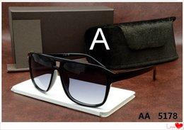 Wholesale Ford Mirrors - luxury top qualtiy New Fashion 5178 Tom Sunglasses For Man Woman Erika Eyewear ford Designer Brand Sun Glasses with original box TOM