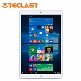 Wholesale Teclast Android - Wholesale- Teclast X80 Power 8.0 inch Dual OS Windows 10 + Android 5.1 Intel Cherry Trail Z8300 64bit Quad Core 2G RAM 32G ROM Tablet PC