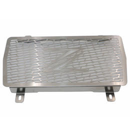 Wholesale Motorcycle Radiator Guards - Stainless Steel Motorcycle Radiator Grile Protector Guard Protective Grille Guards Cover For Kawasaki Z-250 2014-2015 KRG-F0801