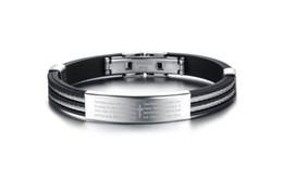 Wholesale Magnetic Sports Bracelet Titanium - 2017 Dropship Hot Sale Best Selling bracelet Colorful Fashion Bangle Bracelet Genuine Leather Magnetic Stainless steel Charm Men's Gift