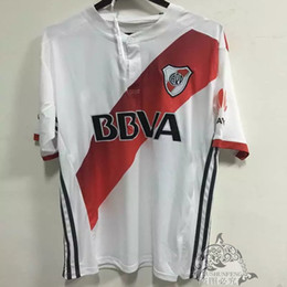 Wholesale Soccer Jersey River - Thai quality Argentina CA River Plate Home away Soccer Jerseys CA River Plate FOOTBALL SHIRTS CA River Plate Men football clothes