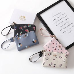 Wholesale Korean Simple Long Dresses - Women Hangbags Brand Simple Fashion Vintage Handbags Multi Lompartment Heart Pattern Female Long Wallets Card Bags
