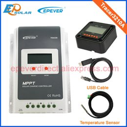 Wholesale Meters 12v - EPsolar MPPT solar controller 30A 30amp with MT50 remote meter Tracer3210A for 12V 24V auto work