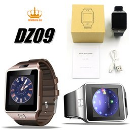 Wholesale Pet Sleeping - DZ09 smart watch for Apple android phone support SIM TF card MP3 smartwatch with camera Anti-lost pk gt08 A1