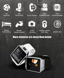 Wholesale Watch Phone Wifi Dual - QW09 Bluetooth Smart Watch 3G Wifi Waterproof Smartwatch Android 4.4 MTK6572 Dual Core 512M 4GB For IOS Android Smartphone