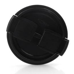 Canada Capuchon d'objectif en plastique noir 52mm TextuRed gros-2x pour caméra Offre