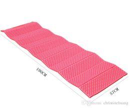 Wholesale Foam Sleep Mat - Outdoor Camping Sleeping Yoga Moisture-proof Thickened Foldabale Mat Cushion Mattress Pad