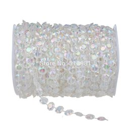 Wholesale Glass Bead Window Curtains - Wholesale-Fashion Style 12mm *20Meter Crystal Beads Curtain Handmade Crystal Glass AB Curtain Porch Partition Door Curtain Customized