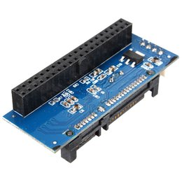 Wholesale Ide Internal - Wholesale- High Quality 40 Pin 3.5 IDE to 7+15 22 Pin SATA Male Adapter Internal Hard Drive Card Adapter For HDD Enclosure