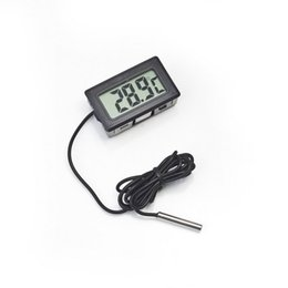 Wholesale Digital Lcd Probe Thermometer - Digital LCD Probe Fridge Freezer Thermometer Thermograph for Refrigerator Temperature Instruments