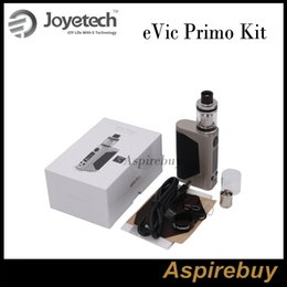 Wholesale Joyetech Evic E - Joyetech eVic Primo 200W TC Kit with UNIMAX 25 Atomizer Airflow Control and E-liquid Filling with BFXL Kth-0.5ohm DL Head 100% Original
