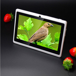 Wholesale Gps 512 - 512+8GB Cheap Tablet PC 7 Inch A33 1024*600 Tablet PC Quad Core Android Tab Q88 Android Tablet