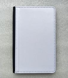 Держатель для паспорта Сублимационный чехол с печатью Пустой Полиэстер холст с слотом для карт Бесплатная доставка 100 шт. / Лот от