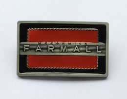 Wholesale Tractor Wholesalers - Farmall tractor belt buckle SW-BY521 suitable for 4cm wideth snap on belt with continous stock