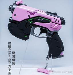 Wholesale Cosplay Game Models - Watch the vanguard DVA light gun cosplay props weapons model second element game peripheral mobile power charging treasure
