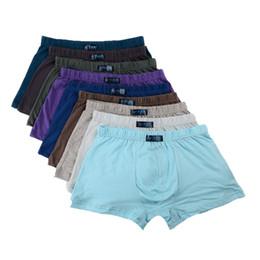 Wholesale Plus Size Cotton Panties - 2017 ultra-large size Men's wear Large loose male cotton Underwears Boxers high waist panties breathable fat belts Big yards men's underwear