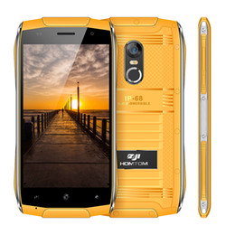 Wholesale Chinese Waterproof Cell Phone - HOMTOM ZOJI Z6 Original 4.7 inch IP68 Waterproof Smartphone Android 6.0 MTK6580 Quad Core 3G 1.3GHz 1GB RAM 8GB ROM Cell Phones