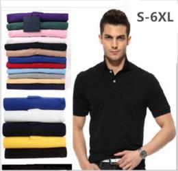 Wholesale Mens Brand Polo Shirt - Brand Camisa embroidery Polo Shirt Men Design Cotton Polos Mens Short Sleeve Polo Shirts Sportsjerseysgolftennis Plus Size XXXL Blusas Topss