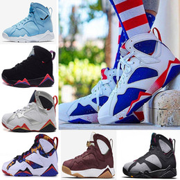 Wholesale Summer Net Shoes - 2018 best quality Newest Nothing But Net Olympic UNC University blue Men Basketball Shoes Athletic Sport Sneakers Shoes US 8-13