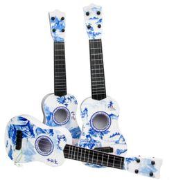 2019 nova guitarra elétrica slash Guitarra de porcelana azul e branca.Concise e linda, grande atacado.