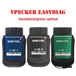 Wholesale Auto Car System - Car Diagnostics Tool Newest Vpecker EasyDiag V8.5 Wifi Bluetooth OBD2 16Pin Plug Full Systems Auto Scanner automotivo Vpecker
