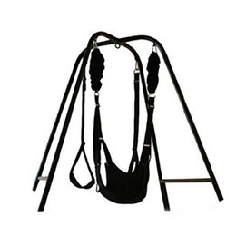Wholesale Sex Toys Swings - TOUGHAGE Sex Swing Set Luxury Love Swing Hanging Chair with Wrist Restraints Clamp Belt for Couples swing for yoga Sex Toys