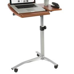 Canada Angle réglable en hauteur pour ordinateur portable, chariot de bureau à roulettes sur support de table d'hôpital de lit Offre