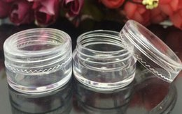 Wholesale Eyeshadow 5g - New Arrive Cosmetic Empty Jar Pot Eyeshadow Makeup Face Cream Container Bottle Capacity 5g