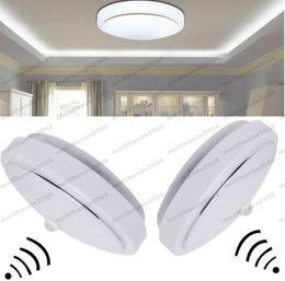 Wholesale Pir Lighting Control - 2017 NEW 12W PIR LED Flush Mounted Ceiling Modern Kitchen Bathroom Lamp Down Light FREE SHIPPING MYY