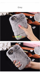 Wholesale Cover Note Rabbit - Rabbit Hair Soft Smooth Touch Fur Case Shockproof Protective Women Girl Lady Cover for iPhone 6 6S 5S NOTE 4 3 PLUS Galaxy S4 S5 S6 sale!!