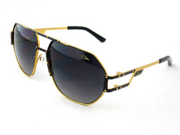 Wholesale Top Brands Fashion Logos - vintage sunglass Germany designer top laser logo C9054 sunglass steampunk style men brand deisnger sunglass with original case goggles
