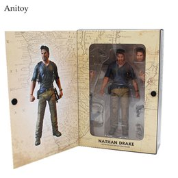 """Wholesale Ultimate Models - NECA Uncharted 4 A thief's end NATHAN DRAKE Ultimate Edition PVC Action Figure Collectible Model Toy 7"""" 18cm KT3423"""