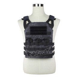 Proteger paintball en venta-WoSporT JPC Tactical Vest Chest Rig Jumper portador Nylon MOLLE Gear para Airsoft deportes Paintball Caza Shootin Combat Protected Vest